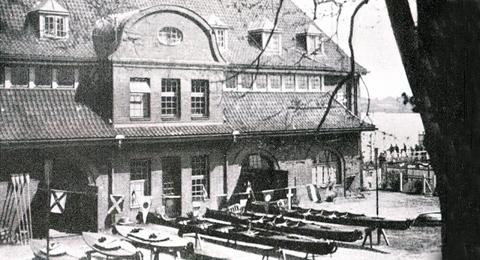 Boots- und Fechthalle der Christian-Albrechts-Universität zu Kiel