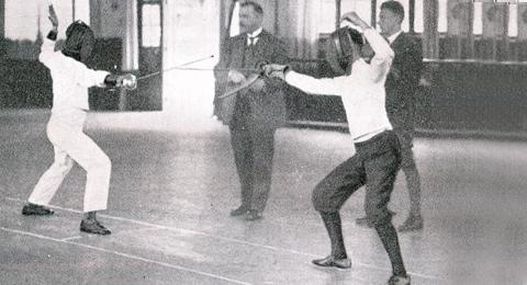 Hochschulmeisterschaften im Florett 1926